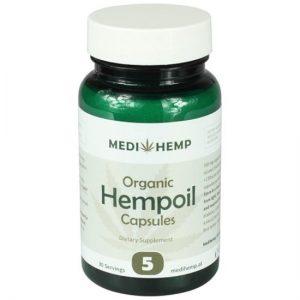 Medihemp - 5% CDB - 30 Capsules