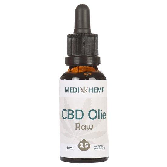 Medihemp CBD Olie RAW 2,5% (30ml)