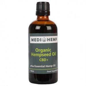 Medihemp Organische hennepzaad olie Plus CBD